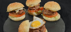 Receta de hamburguesas