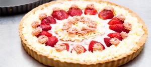 Receta de tarta de fresa
