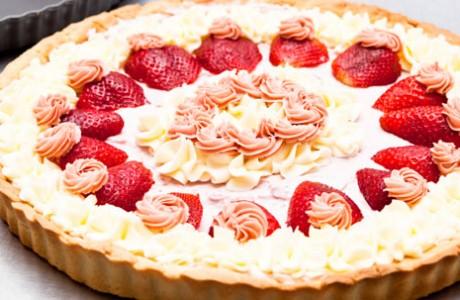 Receta tarta de fresa, La Tartería