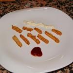 Churros de queso