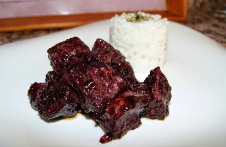 Receta de cerdo en salsa picante de ciruela
