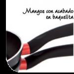 Sartenes forja de Quid, con mango de baquelita