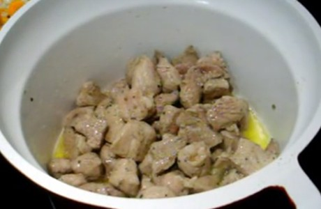 Receta de magro de cerdo al curry rojo tailandés