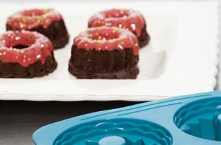 Receta de minibundts de chocolate con La Tartería