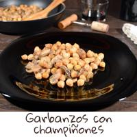 Garbanzos-con-champiñones