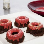 Minibundt-chocolate