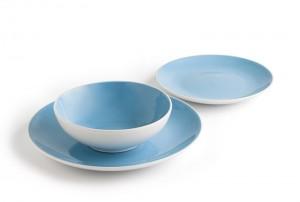 Rustik bicolor: blanco y azul