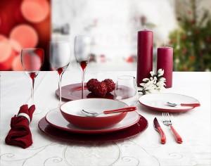Rustik bicolor: blanco y rojo