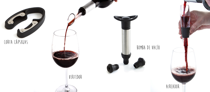 Complementos para vino