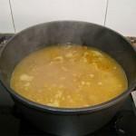 sopa de lentejas con naranja