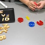 Receta de galletas con forma de letras