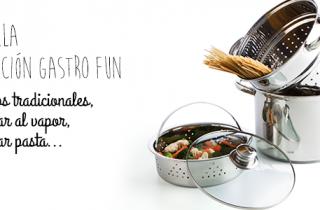 Set olla multifuncion Gastro Fun