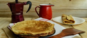 Receta crepes cafe