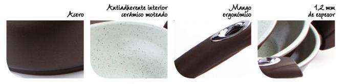 sartenes-acero-granite-comfort
