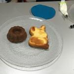Bizcochos de Pascua con forma de Conejo