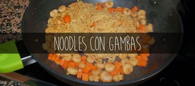 Receta De Noodles Con Gambas El Chef De La Casa
