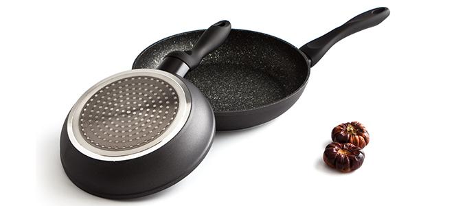 Sartenes de forja forja quarz black el chef de la casa - Sartenes chef la cartuja de sevilla ...
