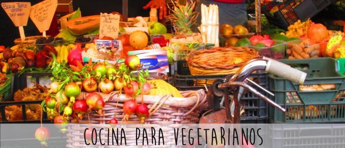 cocina vegetarianos