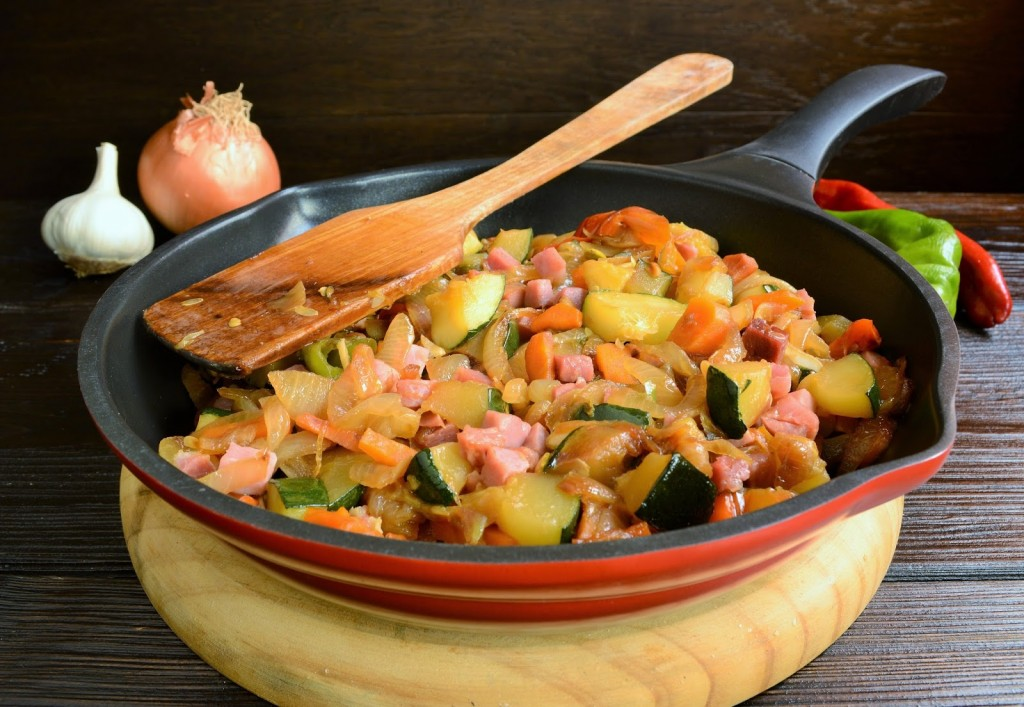 receta salteado verduras