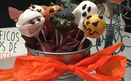 Receta de cakepops de Halloween