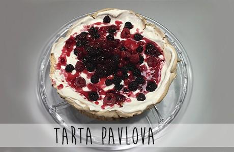 Receta de tarta Pavlova