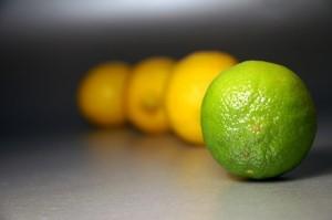 lima y limones