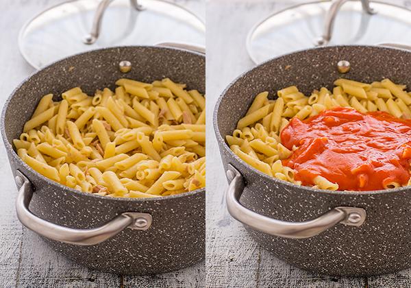 paso-a-paso-macarrones-con-atun-tomate