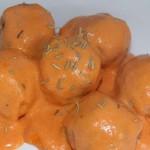 Albóndigas en salsa de pimientos