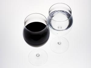 copa agua vino