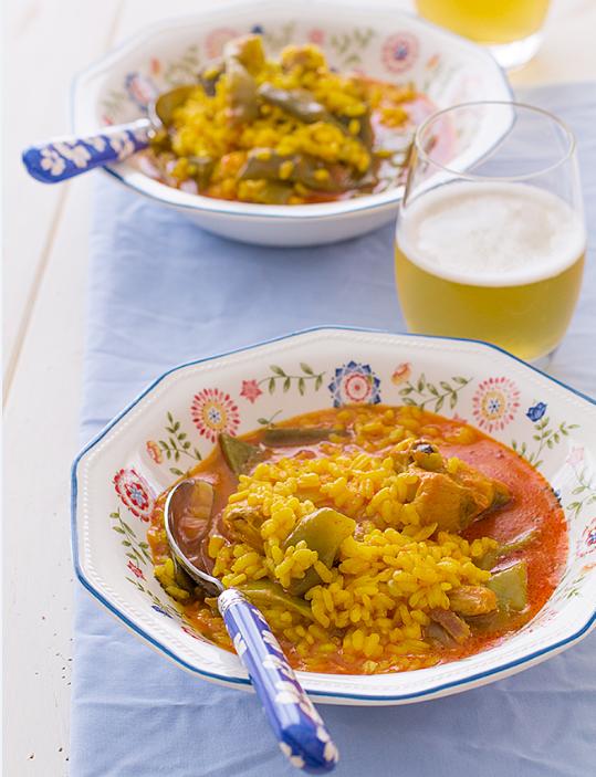 arroz-caldoso-pollo