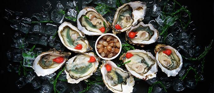 ostras-maridaje