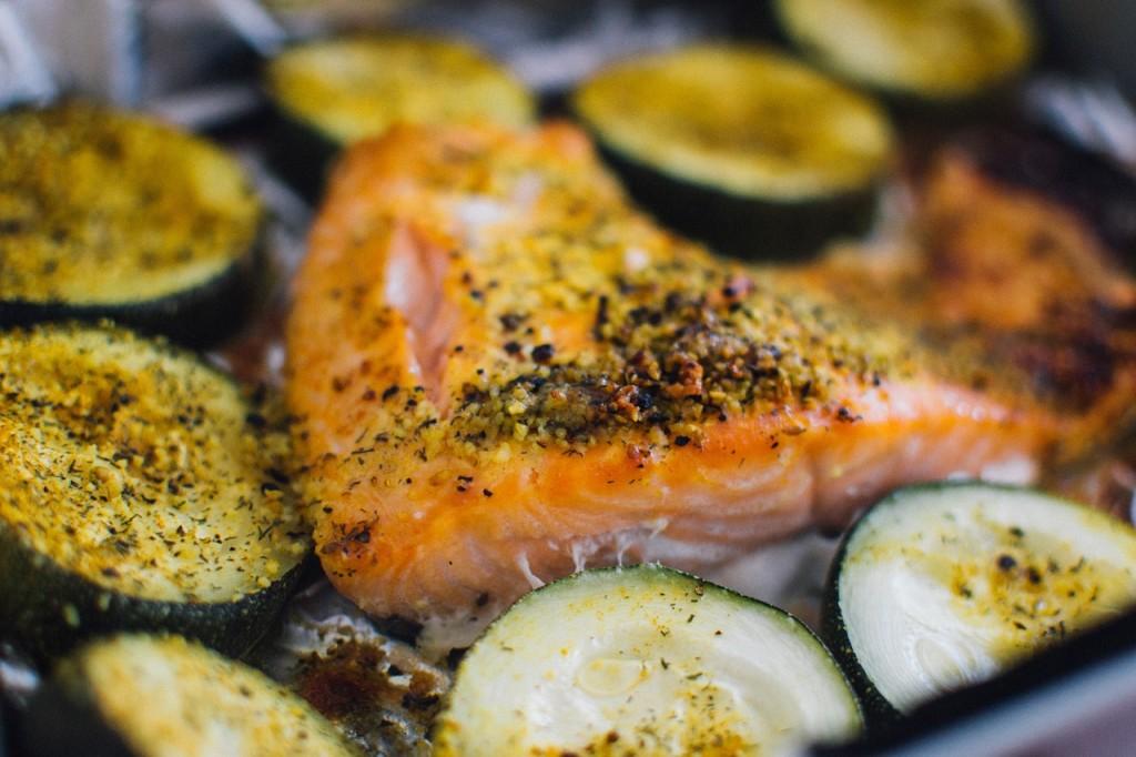 receta salmon horno