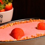 receta pastel de fresa