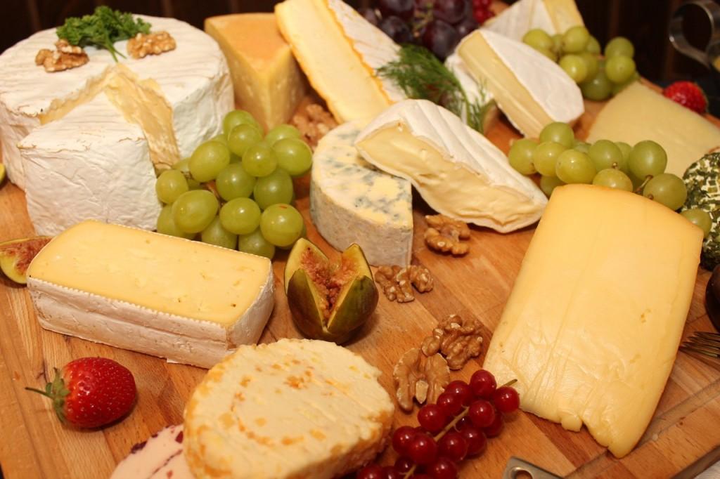 tabla quesos cena