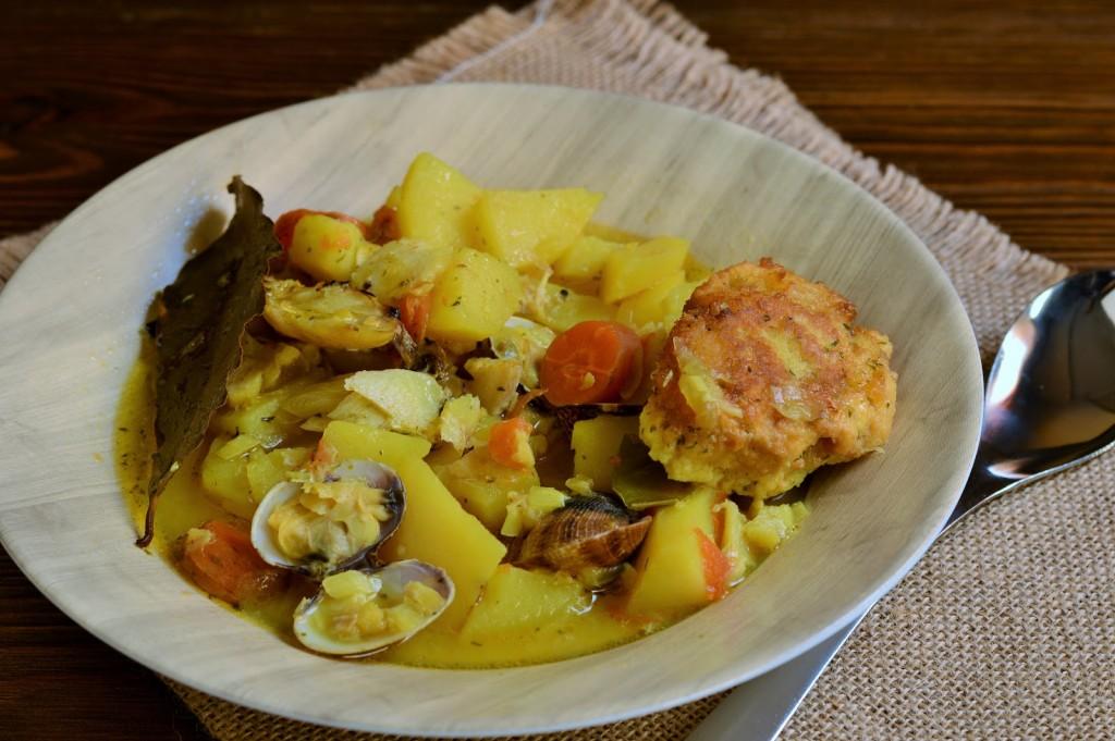 receta guiso bacalao