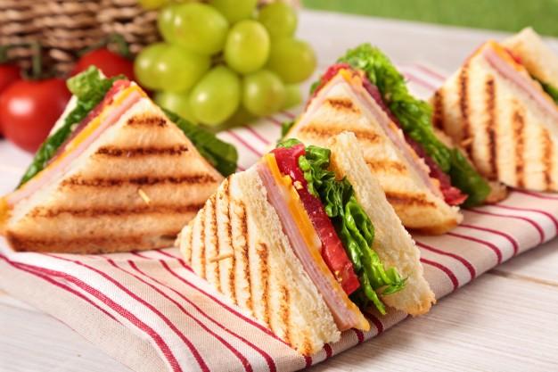sándwich foto