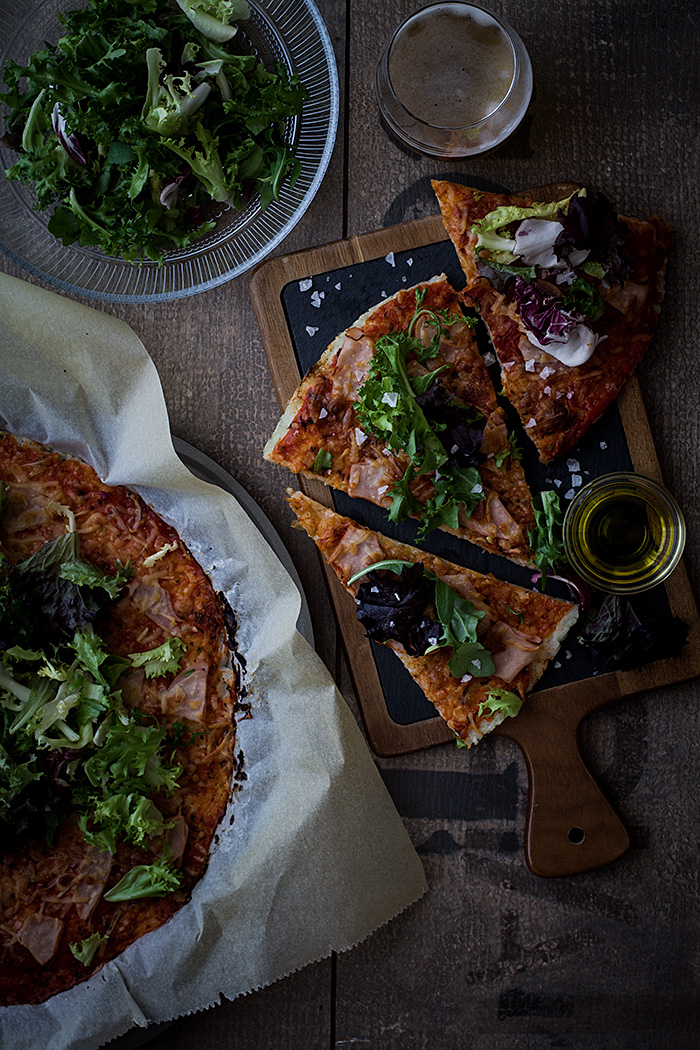 Pizza de arroz el chef de la casa - Sartenes chef la cartuja de sevilla ...