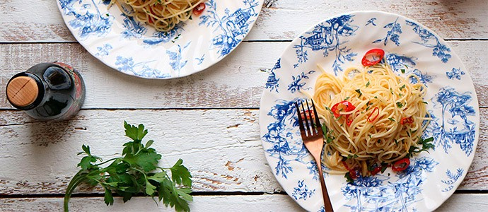 receta espaguetis