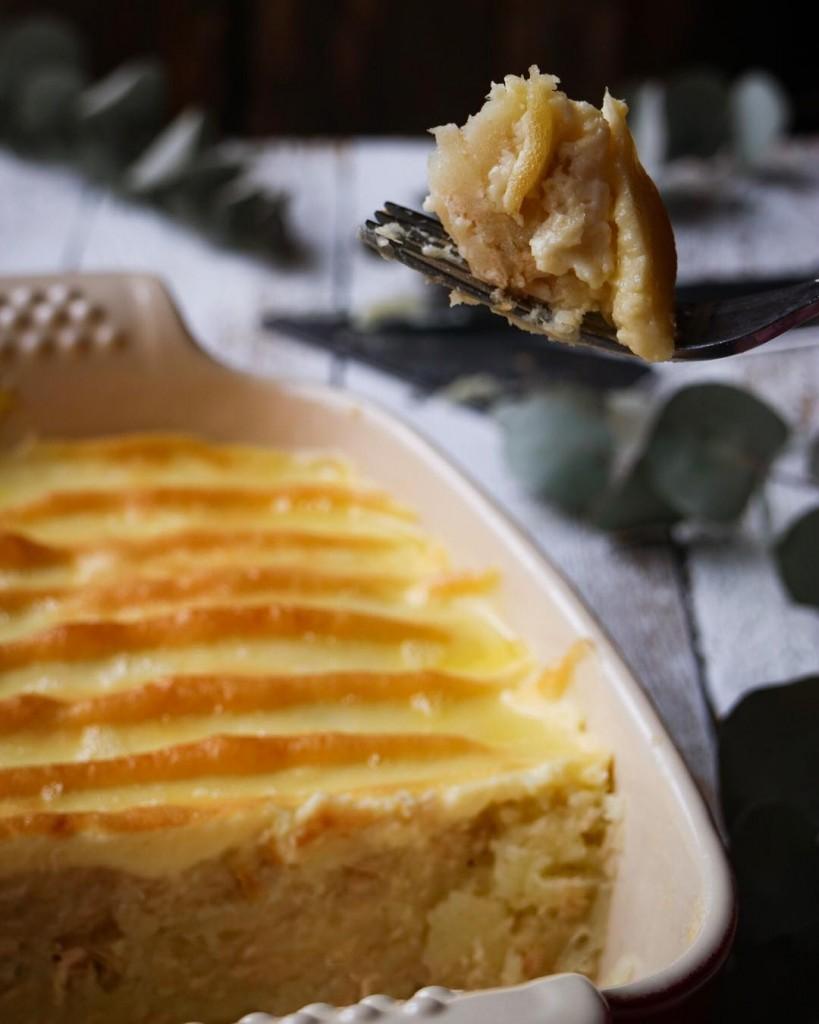Receta pastel de patata