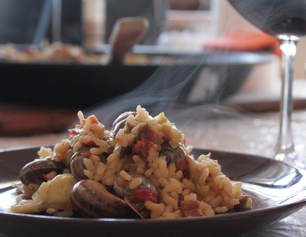arroz-caracoles